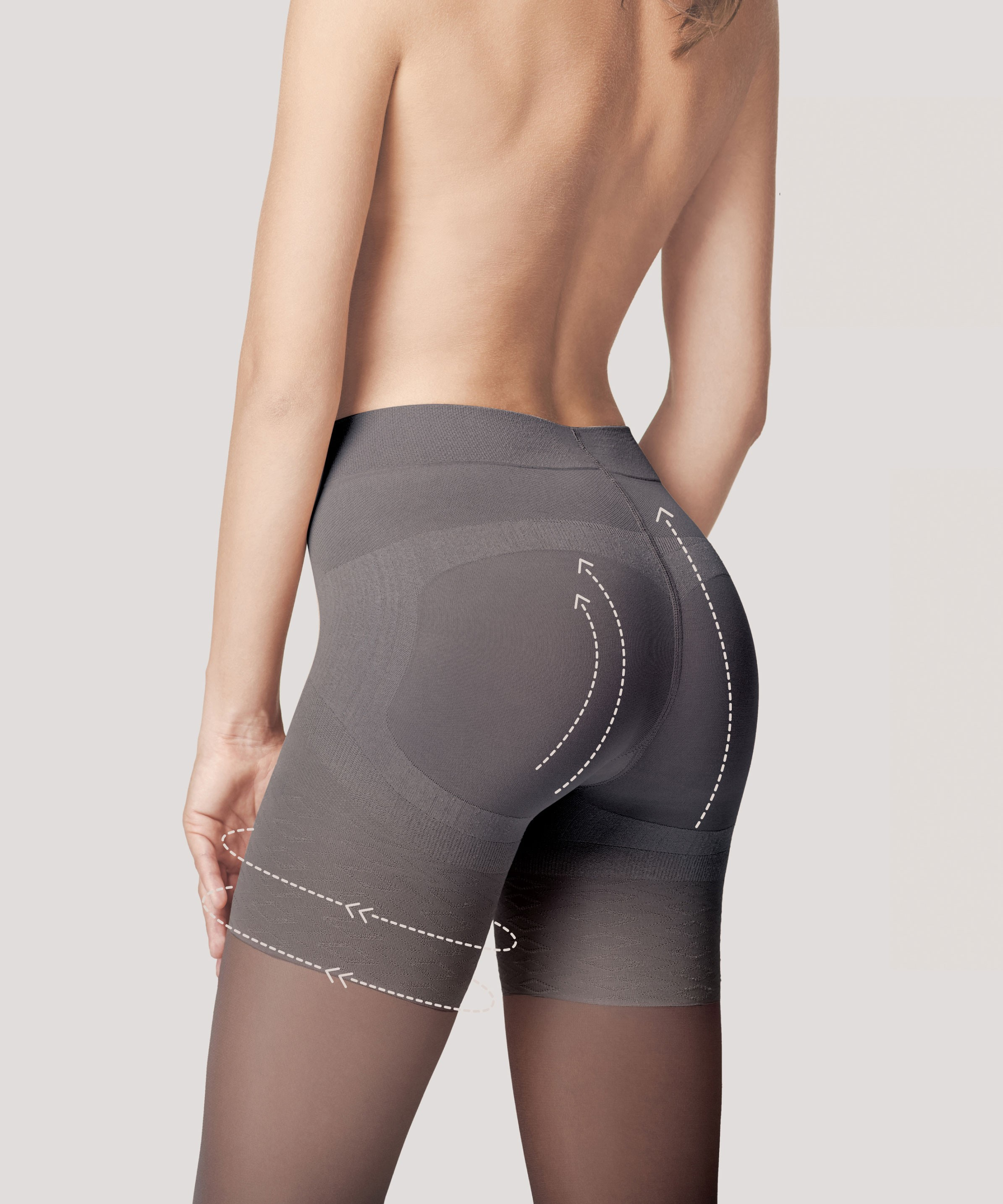 Collant remonte-fesses (40 den)