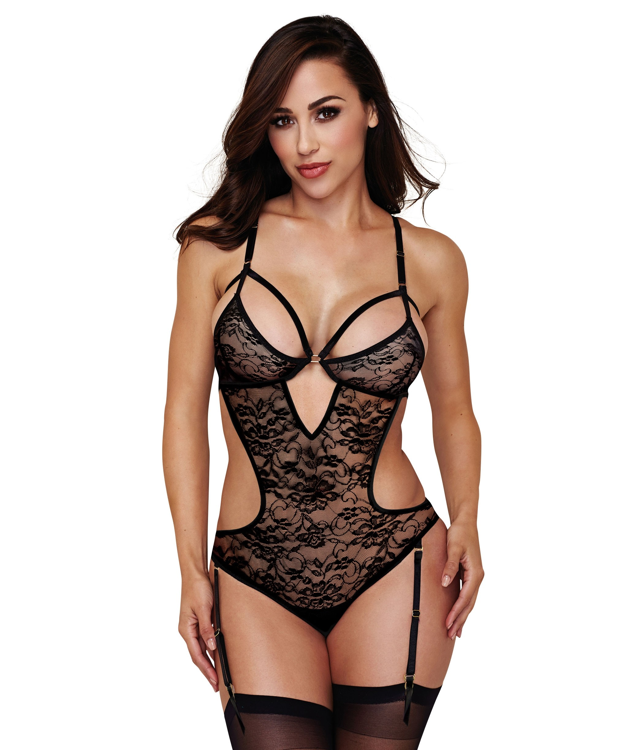 Body porte-jarretelles Sexy Lace