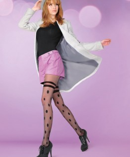 Collant Dotty par Gabriella (320 DOTTY)
