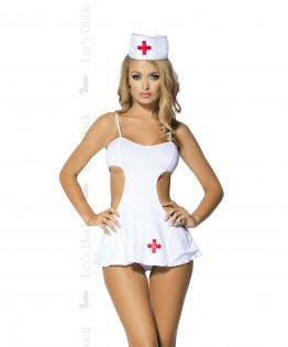 Costume sexy infirmière High Fever par Let's Duck (LD-65)
