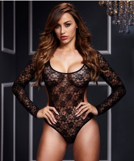 Body Long Sleeve par Baci Lingerie (BL-3102)