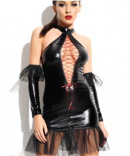 Robe sexy et string Martha par Demoniq (MARTHA-SET)