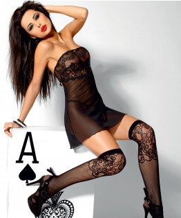 Nuisette et string Ace High par Axami (V-1800)