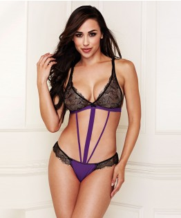 Body Strappy Micro And Lace par Baci Lingerie (BL-3142)