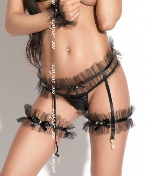 Porte-jarretelles 01 Only par Me Seduce (MS-GARTERS-BELT-01-ONLY)