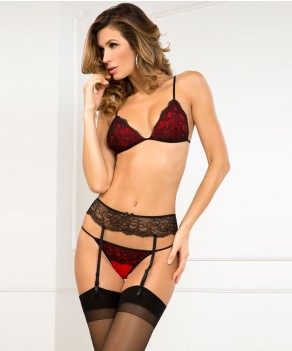 Ensemble 3 pièces Crown Pleasure par Rene Rofe (RR-532119)